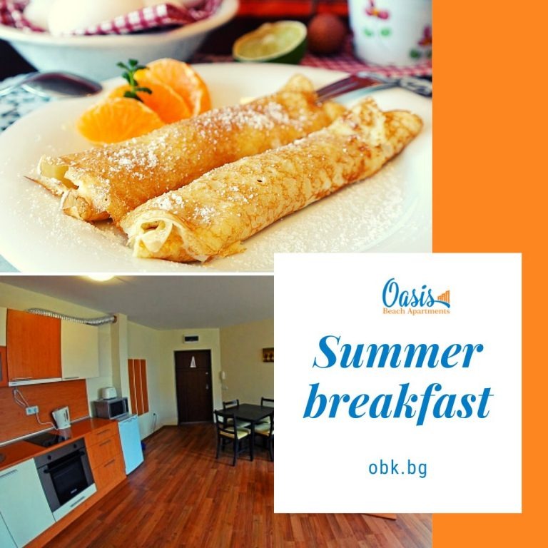 breakfast oasis beach kamchia